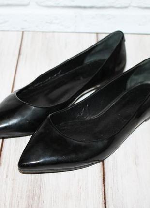 Maria esse кожаные туфли лодочки/балетки 36 размер 100% натуральная кожа