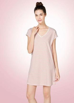 Женская хлопковая ночная рубашка esmara lingerie евро 44-46