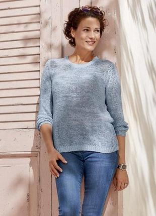 Женский вязаный пуловер джемпер свитер от esmara германия м40/42вро