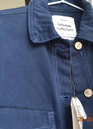 Джинсовий піджак zara