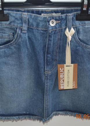 Стильная джинсовая юбка ovs