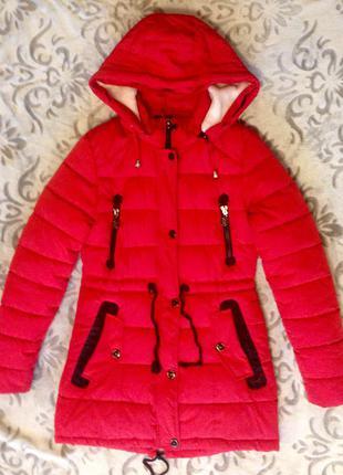 Куртка зимняя пальто пуховик холофайбер