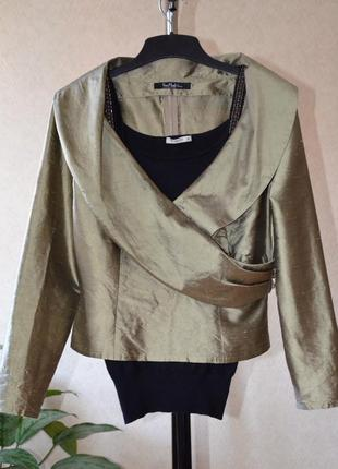 Блуза натуральный шелк vera mont франция