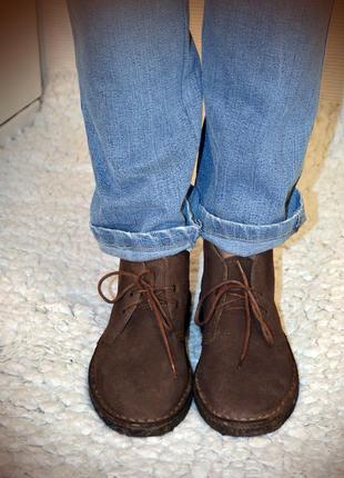 Туфли-ботинки  топсайдеры, внутри выворотка нутур замша, новые! на все снижена цена