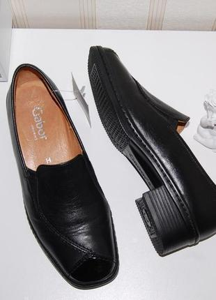 Туфли кожа кожаные 37 р gabor
