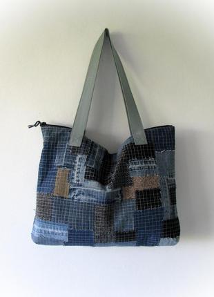 Джинсовая сумка 24