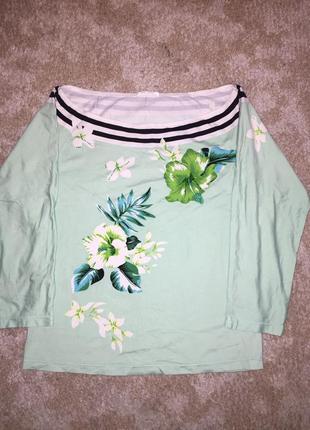 Нарядная блузка футболка кофта вышитая бисером