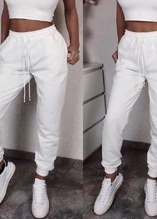 Женские спортивные штаны, турецкая двунитка