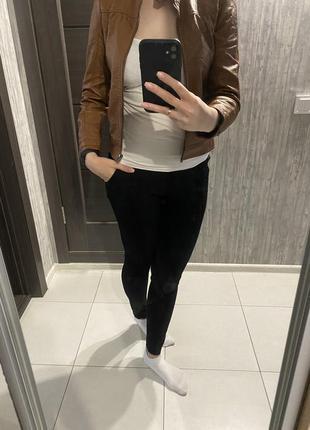 Куртка ветровка кожзаменитель