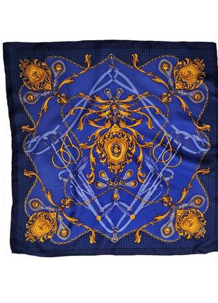 Красивый шейный шелковый платок италия /1532/