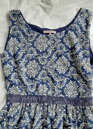 1+1=3 летнее платье с узором anna field платьице  сарафан трендовое милое  романтичное