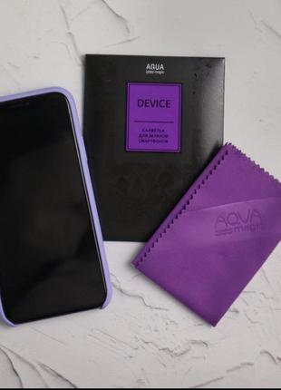 Салфетка доя очистки экранов смартфонов/серветкс для екранів смартфонів