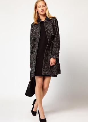 Стильное пальто премиум бренда, осень-весна