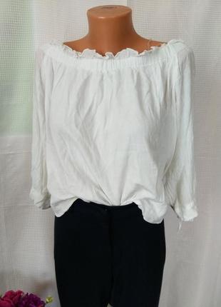 Блуза с открытыми плечами, рр хл