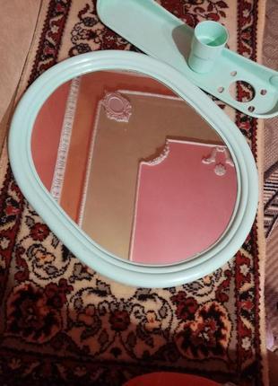 Зеркало+полочка