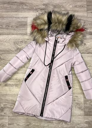 Распродажа! зимняя курточка для девочки!