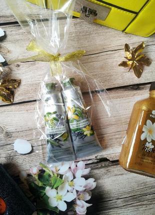 Набор кремов для рук ив роше: ваниль + олива-петигрейн