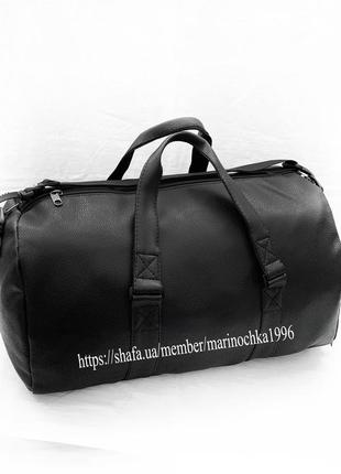 Новая невероятно крутая дорожная сумка pu кожа высококачественная / спортивная / на фитнес