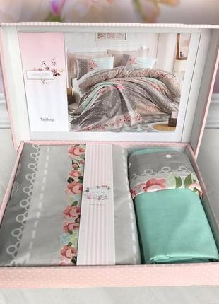 Комплект постельного белья двуспальный, пр-во турция, ткань ранфорс