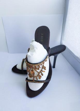 Супер элегантные босоножки на каблуке