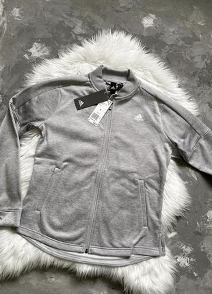 Оригинал! женская спортивная кофта на застежке бомбер adidas climawarm из сша