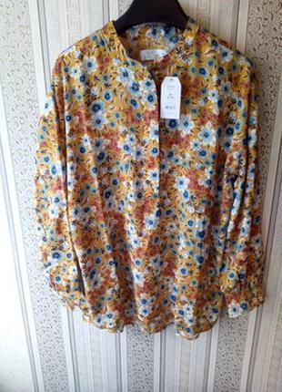 Шифоновая блуза туника тime тru