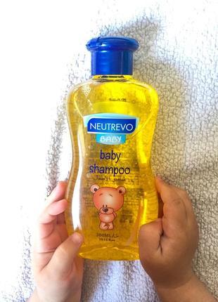 Дитячий шампунь nutrevo baby