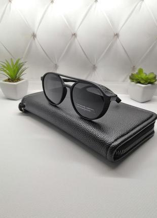 Солнцезащитные очки порш с боковой шторкой,в матовой оправе 🔥🔥🔥