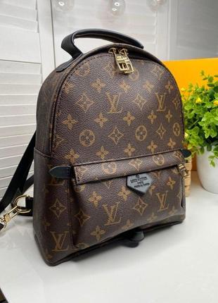 Кожаный рюкзак louis vuitton lv