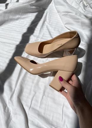 Туфли giardini кожа
