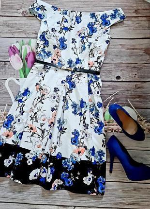 Самое красивое платье хлопок