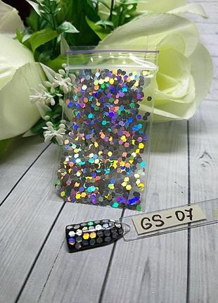 Дизайн для ногтей соты, gs-07