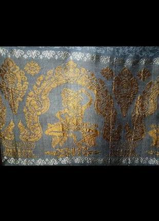 Натуральный шелк шарф палантин made in combodia