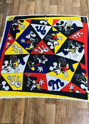 Mickey mouse шелковый платок