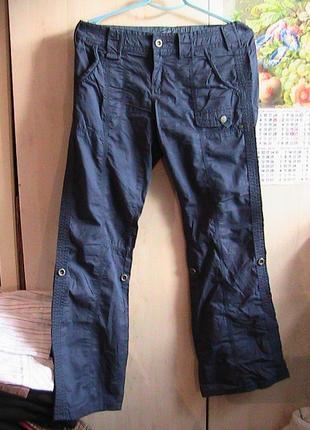 Акция брюки синие супер 40 евро 48р