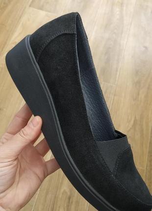 Туфли замшевые большие размеры