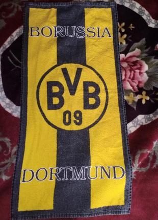 Полотенце с символикой fc borussia dortmund