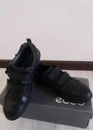 Красивые полуботинки/туфли ecco