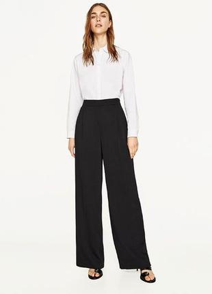 Laura ashley, классические стильные брюки свободного кроя, черные