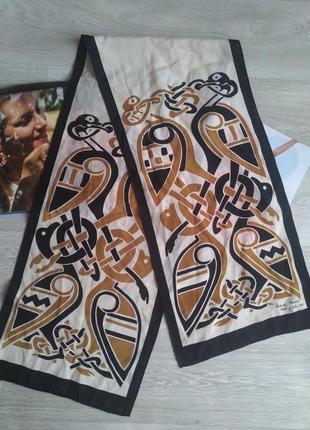 Шелковый шарф patrick francis