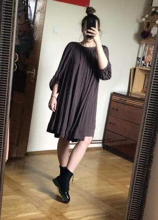 Платье h&m с красивыми рукавами
