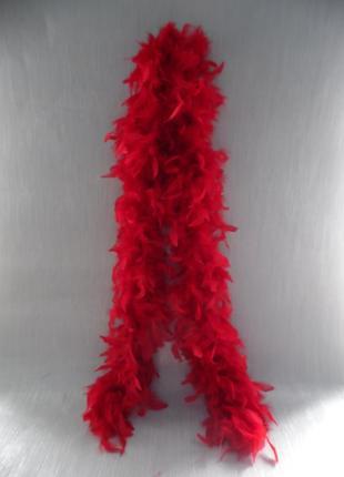 Боа перьевой шарф