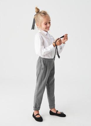 Укороченные брюки чиносы
