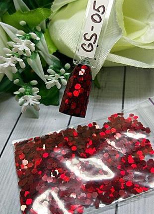 Дизайн для ногтей соты, gs-05