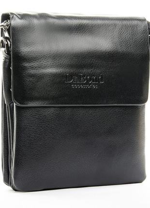 Мужская сумка-планшет dr.bond. кожаная чоловіча шкіряна сумочка на плече