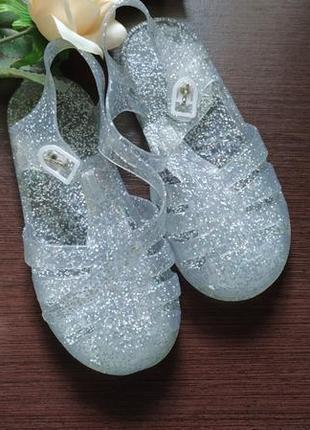 Сток силиконовые сандали босоножки