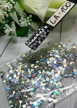 Дизайн для ногтей кубики, la-100