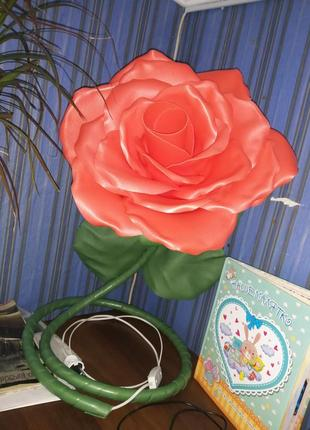Торшер роза светильник