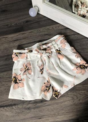 Актуальные шорты с высокой талией, бренд amisu!