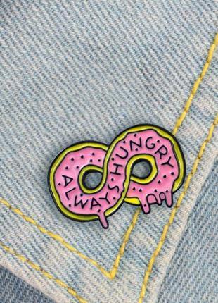 Брошь, значок, пин пончик